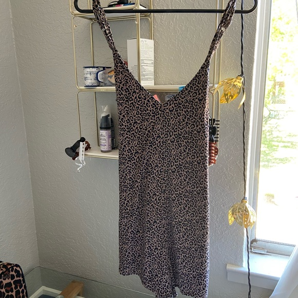 American Eagle Outfitters Dresses & Skirts - Cheetah romper